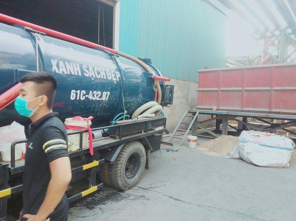 Xe hút hầm câu Bình Phước