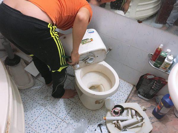 Sữa chữa bồn cầu chuyên nghiệp