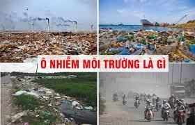 ô nhiểm môi trường là gì