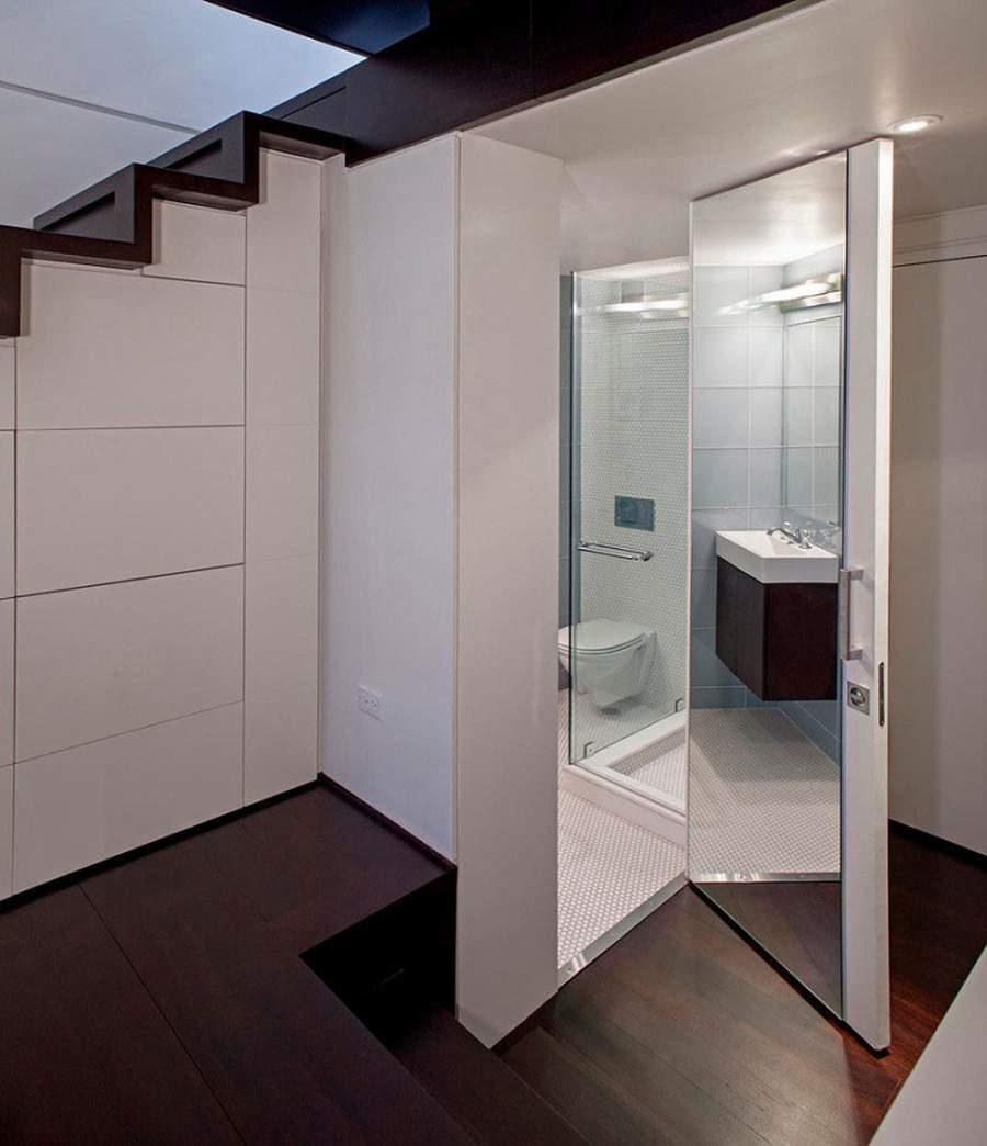 mẫu nhà vệ sinh đẹp dưới cầu thang